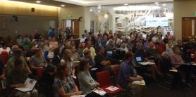 Participants at Solarize Southwest Burien Workshop