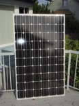 a solar panel close up