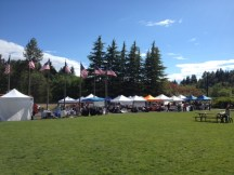 Lawn at Lynnwood Farmer's Market