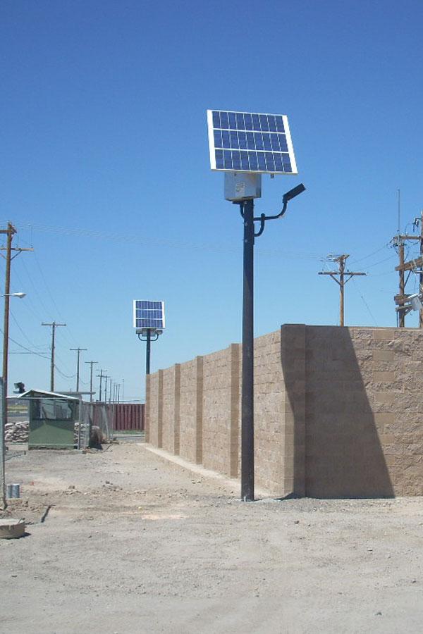 solar commercial outdoor lighting