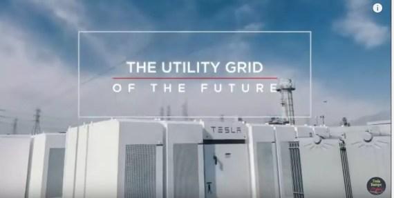 Tesla Powerpack for grid storage