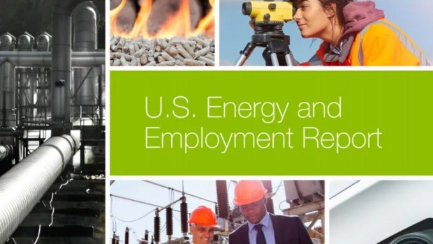 Solar power jobs report