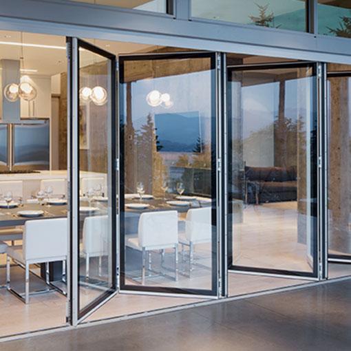 solarlux bi folding doors create seamless transitions solarlux