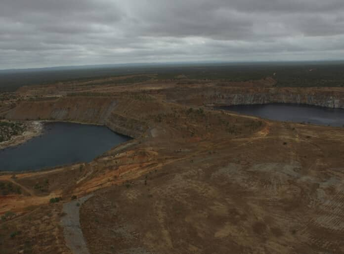 The Birdview of the Kidston Pumped Storage Project in Queensland