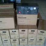 Jual VRLA Panasonic 150Ah AGM bergaransi