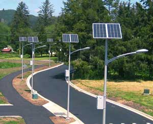 Jual Paket PJU Lampu Jalan Tenaga Surya 25 watt di surabaya