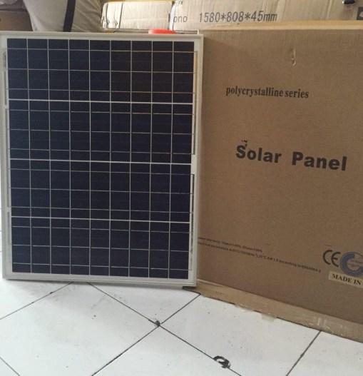jual solar panel 50wp harga termurah