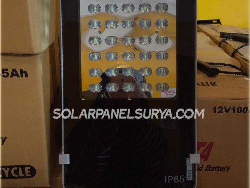 Lampu PJU tenaga surya multiled 40watt