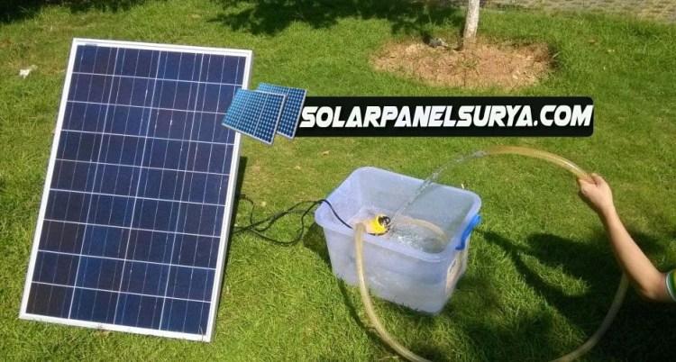 solar panel surya 100watt