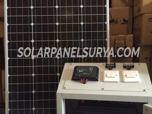 Jual Paket Solar Panel SHS Solar Home System 100watt termurah