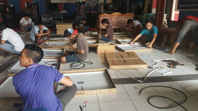 Paket PJU Tenaga Surya 60 watt di Provinsi Papua