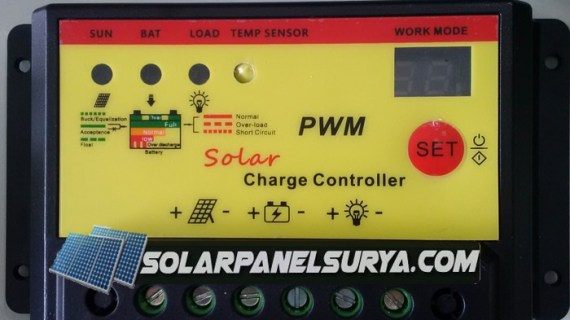 Jual Controller BCR 20A pwm 12/24vdc timer