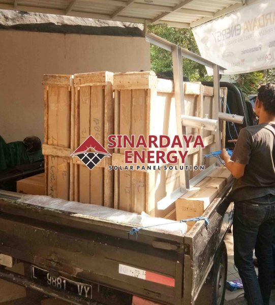 Toko Distributor Lampu Jalan PJU Tenaga Surya Ambon Maluku