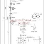 Jual Tiang Lampu Jalan PJU Ambon Maluku | Daftar Harga Paket Lampu Tenaga Surya Ambon