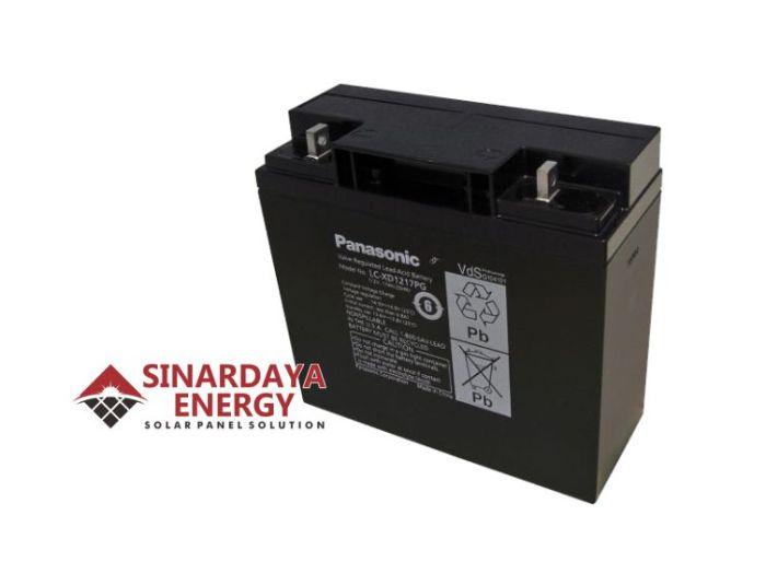 jual baterai panasonic 12v 17ah
