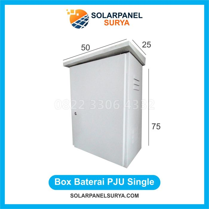 BOX Double PJU Solarcell Surya