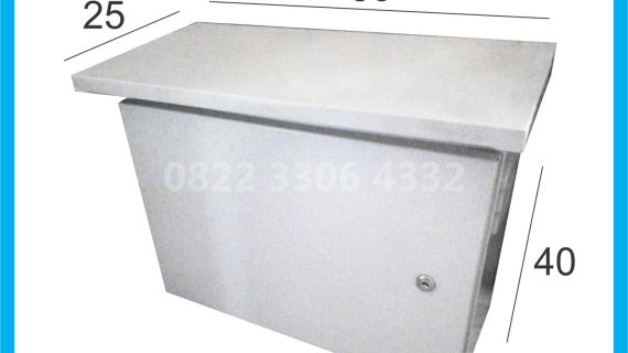 Box PJU Tenaga Surya Single