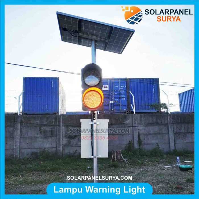 Jual lampu led warning light 2 aspek 30cm