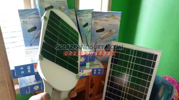 Distributor Lampu PJU Fatro All In One