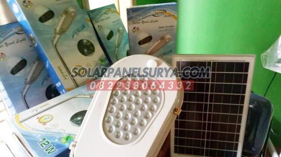 Lampu Jalan Tenaga Surya All In One Fatro 12 watt | Lampu PJU All In One Fatro