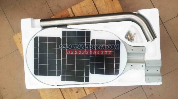 PJU Solar Cell 50 Watt All In One Fatro | Lampu AIO Tenaga Surya Fatro