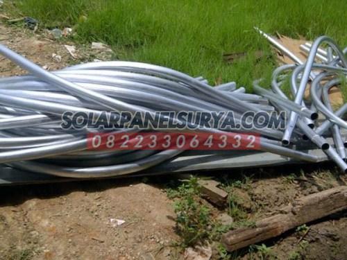 Tiang PJU Solar Cell