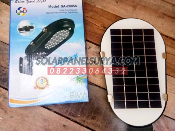distributor pju solar cell all in one