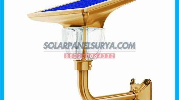 Lampu Taman Solarcell All In One Lotus Light 7 watt