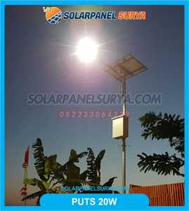 pju solar cell 20 watt