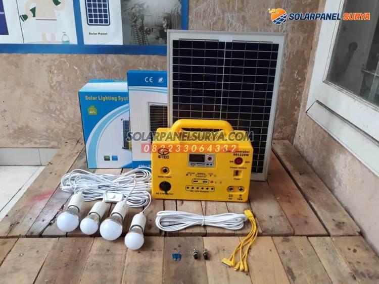 Paket Lampu Sehen Tenaga Surya Desa Kadi Wanno Nusa Tenggara Timur