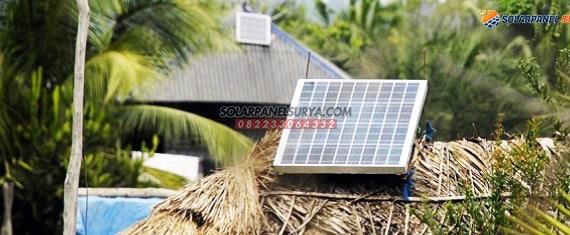 Proyek Paket Lampu Sehen Tenaga Surya di Desa Kadi Wanno, Nusa Tenggara Timur