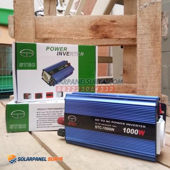 jual Power Inverter STEC STC DC ke AC 1000 watt