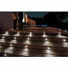 Solar Powered Deck / In-Ground Lighting Kit 5pk