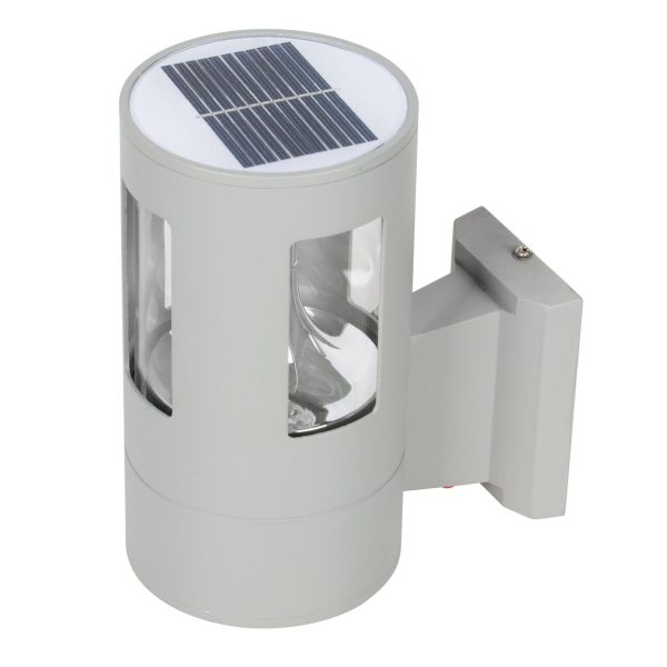 Solar Wall Light PLS-WL-2W-3K