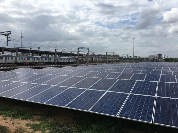 AMP Energy India Launches One of the Largest Behind-the-Meter Distributed Generation Project with L&T Metro Rail Hyderabad