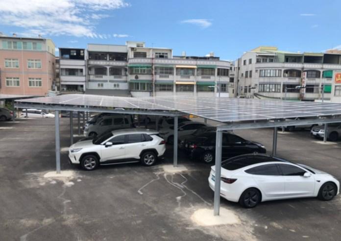 Sunseap Taiwan's First Solar Carport in Miaoli