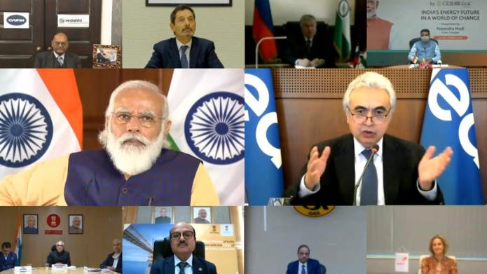Executive Director Participates in Indian Energy Meeting with PM Modi