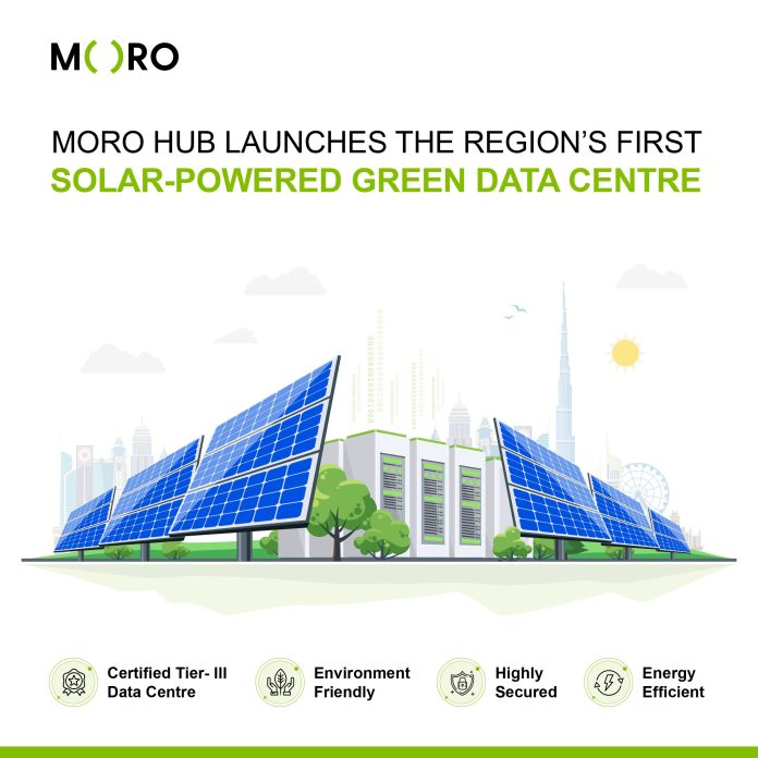 Moro Hub Launches Regions First-Solar Powered Green Data Centre At WETEX 2020