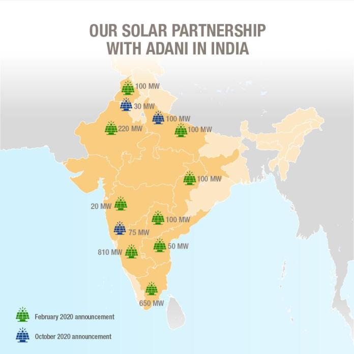 In India, Total Strengthens its Partnership with Adani in Renewable Energies