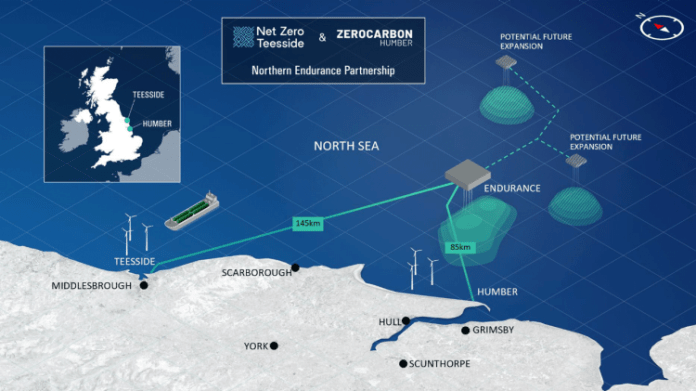 Leading Energy Companies Form Partnership To Accelerate The Development Of Offshore Transport And Storage Infrastructure For Carbon Emissions In UK North Sea
