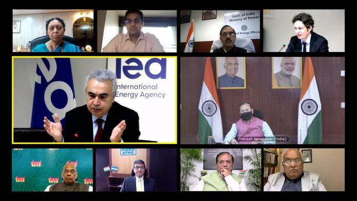 Indian Climate Minister Takes Part In Launch Of IEA's Energy Technology Perspectives 2020 Report In India