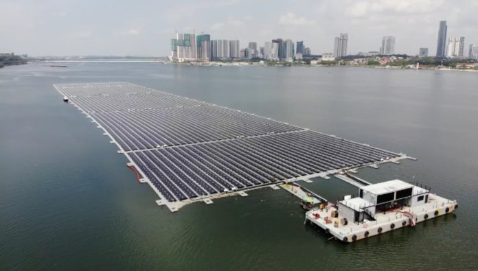 NTPC Launched 25 MW Floating Solar Plant in Vizag