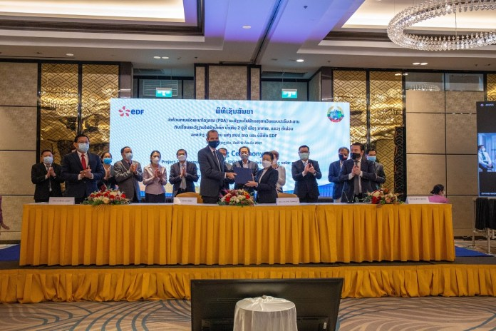 Nam Theun 2 Shareholders Sign Project Development Agreement (PDA) For Hybrid Floating Solar Project