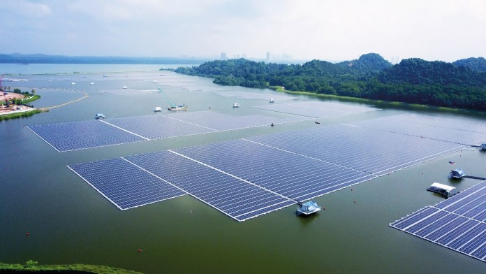 Trina Solar 210 Vertex Modules Used In Singapore For One Of The World's Largest Inland Floating Solar Systems