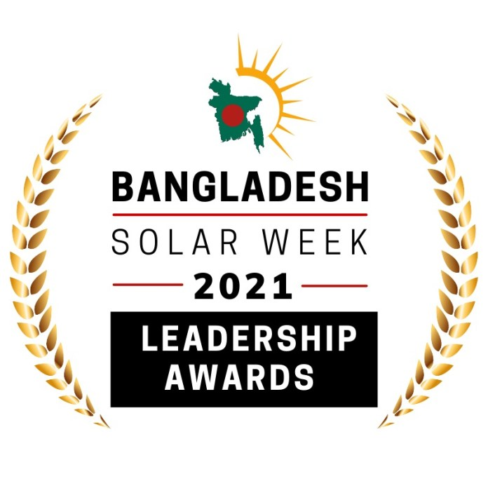 Awards, Recognition & Honors For The Leaders In Bangladesh Solar Industry