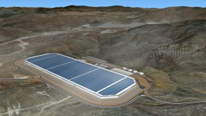 Tesla Battery factory