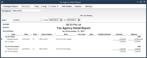 QuickBooks - File Tax Return