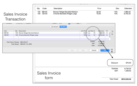 How To Insert The Discounted Amount Into An Invoice Template Of The - Invoice accounting software