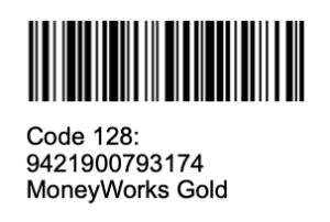 Code128 barcode