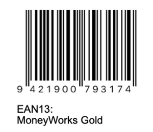 EAN13 barcode